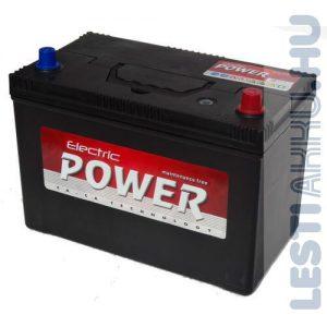 Electric Power Autó Akkumulátor 12V 100Ah 750A Japán Jobb+