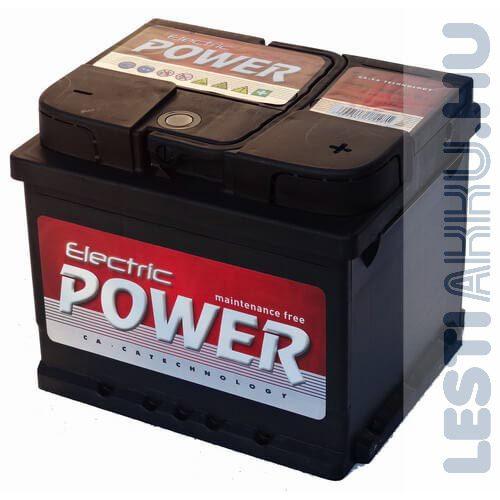 Electric Power Autó Akkumulátor 12V 45Ah 360A Jobb+