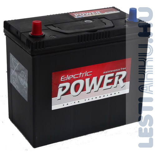 Electric Power Autó Akkumulátor 12V 45Ah 430A Japán Bal+