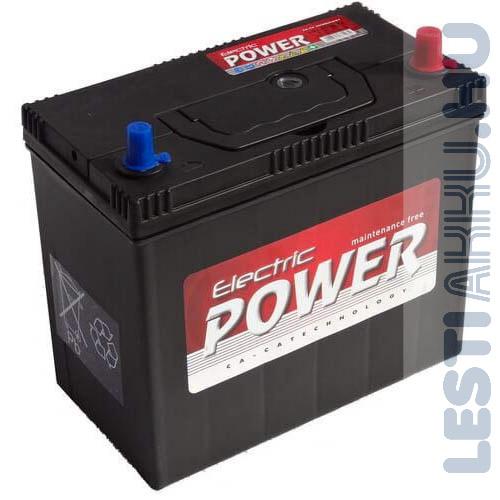 Electric Power Autó Akkumulátor 12V 45Ah 430A Japán Jobb+