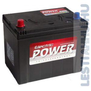 Electric Power Autó Akkumulátor 12V 70Ah 600A Japán Bal+