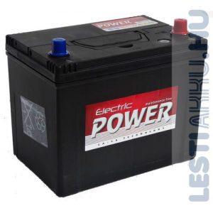 Electric Power Autó Akkumulátor 12V 70Ah 600A Japán Jobb+