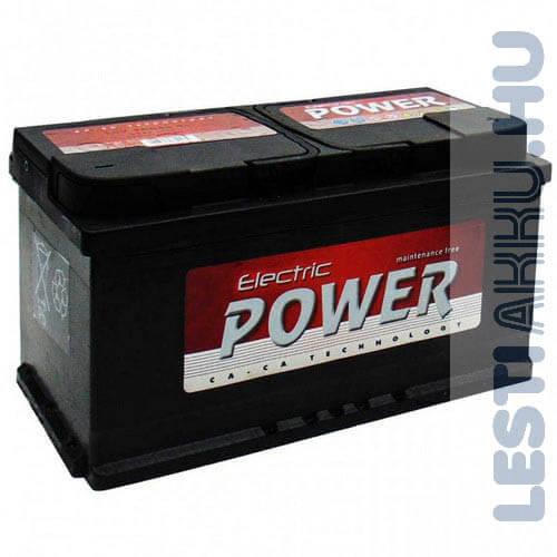 Electric Power Autó Akkumulátor 12V 90Ah 720A Jobb+