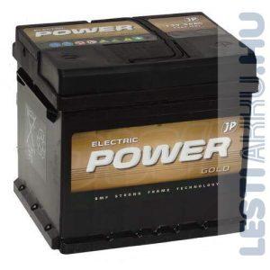 Electric Power GOLD Autó Akkumulátor 12V 56Ah 540A jobb+