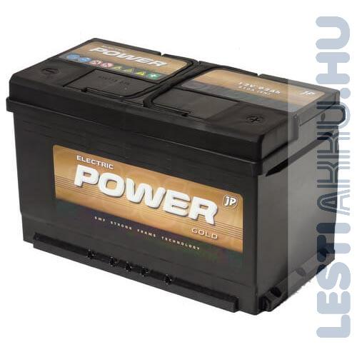 Electric Power GOLD Autó Akkumulátor 12V 92Ah 810A jobb+