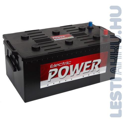Electric Power Teherautó Akkumulátor 12V 220Ah 1150A Bal+