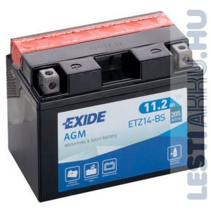 EXIDE Bike AGM Motor Akkumulátor YTZ14-BS 12V 11