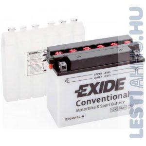 EXIDE Bike Motor Akkumulátor Y50-N18L-A 12V 20Ah 260A Jobb+