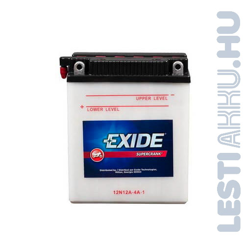 EXIDE Bike Motor Akkumulátor YB12A-A 12V 12Ah 165A Bal+