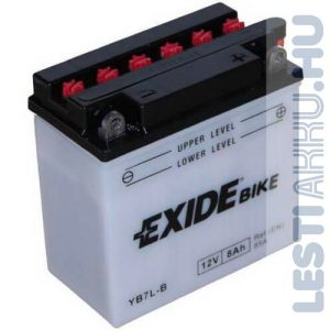 EXIDE Bike Motor Akkumulátor YB7L-B2 12V 8Ah 85A Jobb+