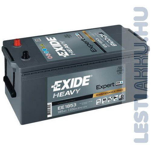 EXIDE Heavy Expert Teherautó Akkumulátor 12V 185Ah 1100A Bal+ (EE1853)