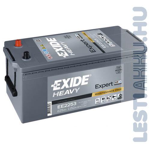 EXIDE Heavy Expert Teherautó Akkumulátor 12V 235Ah 1200A Bal+ (EE2353)