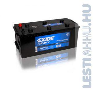 EXIDE Heavy Professional Teherautó Akkumulátor 12V 180Ah 1000A Bal+ (EG1803)