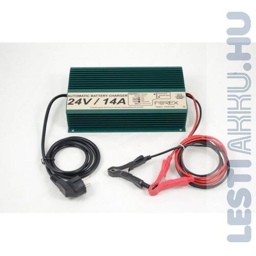 FOREX 24V 14Amp Akkumulátor töltő (T2414B)