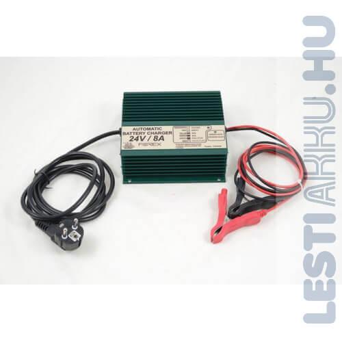 FOREX 24V 8Amp Akkumulátor töltő (T2408B)