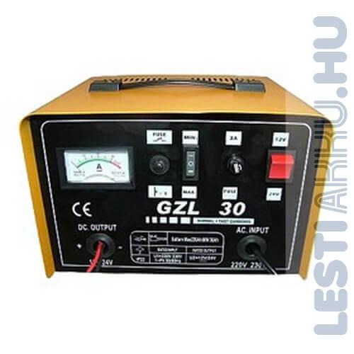 Giant GZL 30 Akkumulátor Töltő 12v 24 Amp 24v 12amp