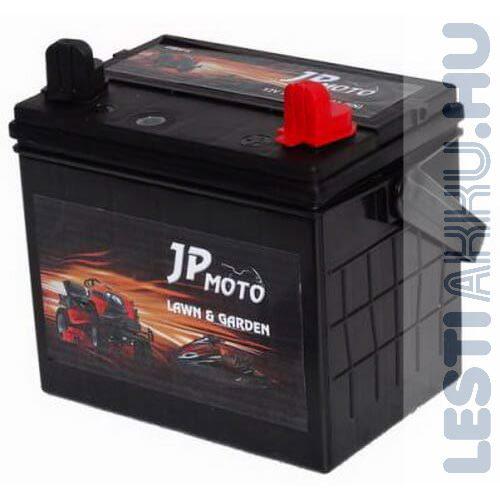 JP MOTO Fűnyíró Traktor Akkumulátor U1RMF-X 12V 30Ah 300A Jobb+