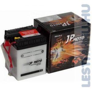 JP MOTO Motor Akkumulátor 6N4-2A-4 6V 4Ah 25A Jobb+
