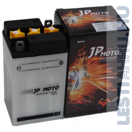 JP MOTO Motor Akkumulátor B49-6 6V 10Ah 80A Bal+