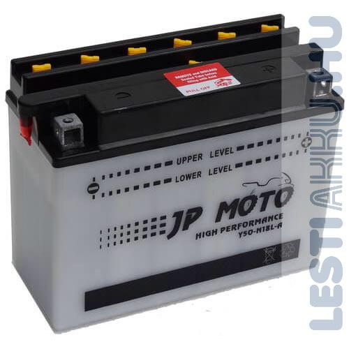 JP MOTO Motor Akkumulátor Y50-N18L-A 12V 20Ah 220A Jobb+
