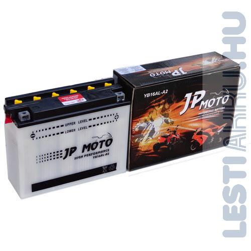 JP MOTO Motor Akkumulátor YB16AL-A2 12V 16Ah 190A Jobb+