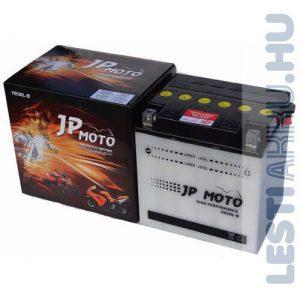 JP MOTO Motor Akkumulátor YB30L-B 12V 30Ah 300A Jobb+