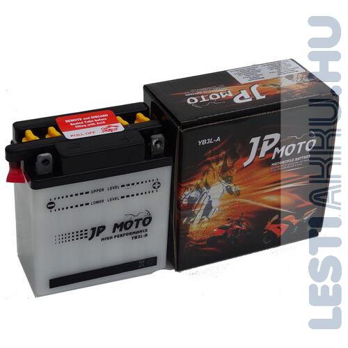 JP MOTO Motor Akkumulátor YB3L-A 12V 3Ah 32A Jobb+
