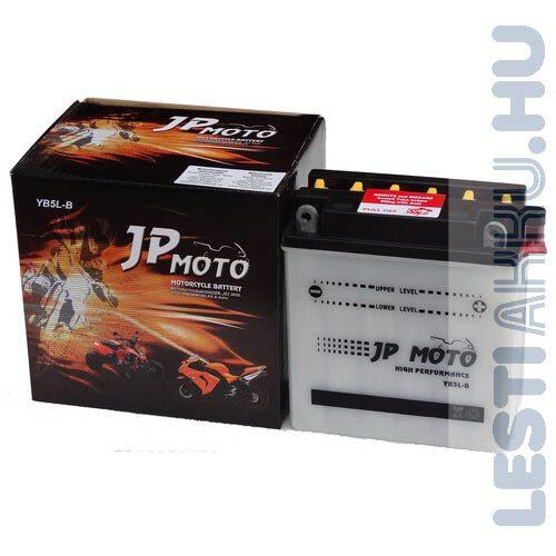 JP MOTO Motor Akkumulátor YB5L-B 12V 5Ah 50A Jobb+