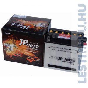JP MOTO Motor Akkumulátor YB9-B 12V 9Ah 90A Bal+