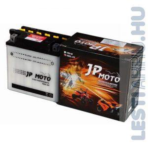 JP MOTO Motor Akkumulátor YB9L-A2 12V 9Ah 90A Jobb+