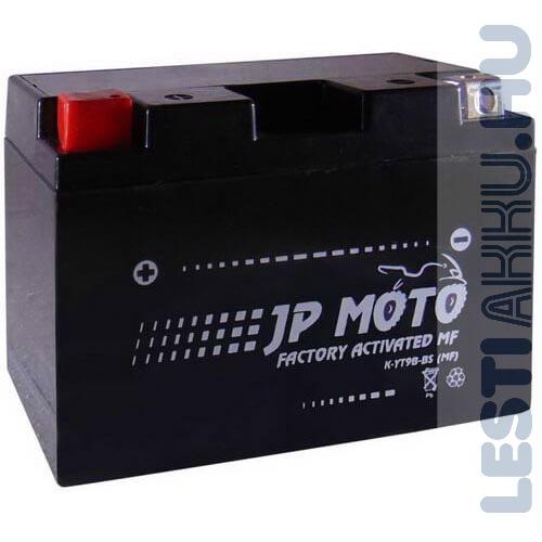 JP MOTO Motor Akkumulátor YT9B-BS 12V 8Ah 100A Bal+