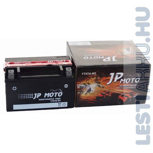 JP MOTO Motor Akkumulátor YTX7A-BS 12V 6Ah 85A Bal+