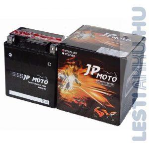 JP MOTO Motor Akkumulátor YTX7L-BS 12V 6Ah 75A Jobb+