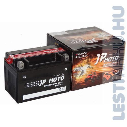 JP MOTO Motor Akkumulátor YTX9-BS 12V 8Ah 90A Bal+
