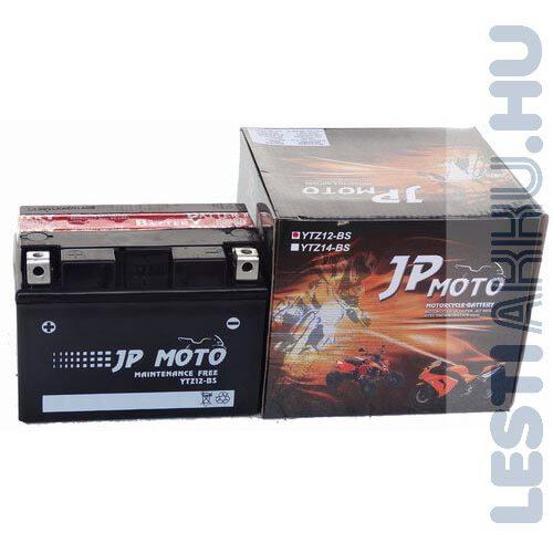 JP MOTO Motor Akkumulátor YTZ12-BS 12V 11Ah 140A Bal+