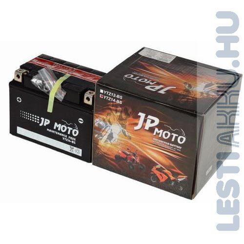 JP MOTO Motor Akkumulátor YTZ14-BS 12V 12Ah 140A Bal+