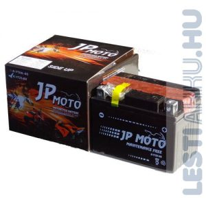 JP MOTO Motor Akkumulátor YTZ5-BS 12V 4Ah 45A Jobb+