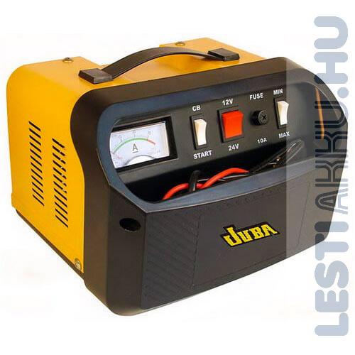 JUBA CT-50 Akkumulátor töltő 12V 30 Amp/24V 20 Amp 130Amp Indítás Rásegítés