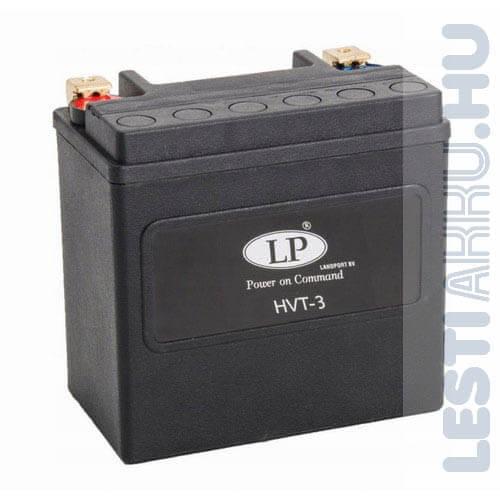Landport Motor Akkumulátor HVT-3 YTX14L-BS 12V 14Ah 220A Jobb+