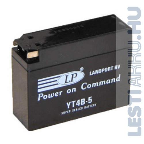Landport Motor Akkumulátor YT4B-5 12V 2