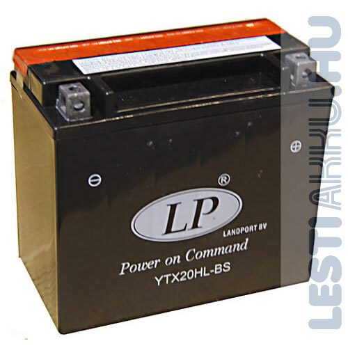 Landport Motor Akkumulátor YTX20L-BS 12V 18Ah 250A Jobb+