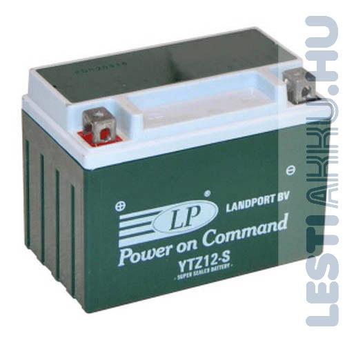 Landport Motor Akkumulátor YTZ12-S 12V 9Ah Bal+