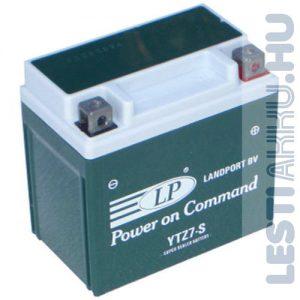 Landport Motor Akkumulátor YTZ7-S 12V 5Ah 130A Jobb+