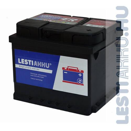 LESTI AKKU Autó Akkumulátor 12V 45Ah 360A Jobb+