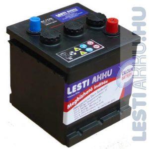 LESTI AKKU Autó Akkumulátor 6V 77Ah 580A Bal+