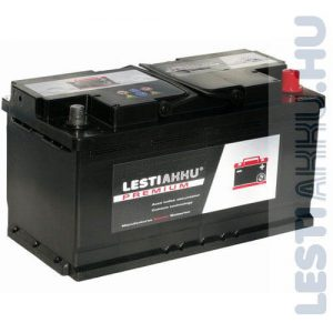 LESTI AKKU PREMIUM Autó Akkumulátor 12V 100Ah 820A Jobb+