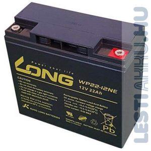 Long 12V 22Ah Elektromos kerékpár akkumulátor
