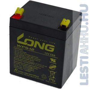 Long 12V 5Ah Risztó akkumulátor