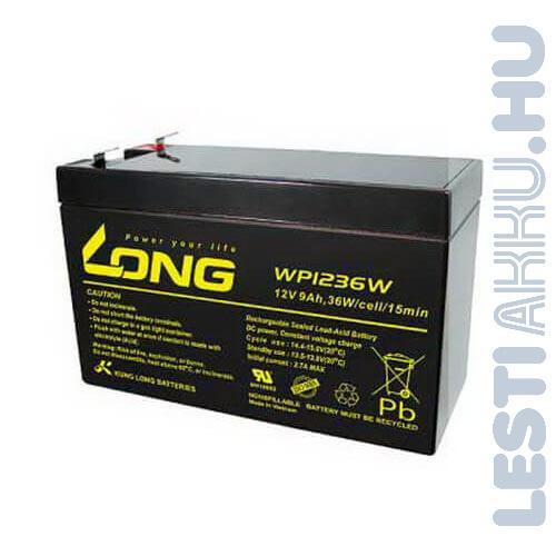 Long 12V 9Ah Szünetmentes tápegység akkumulátor