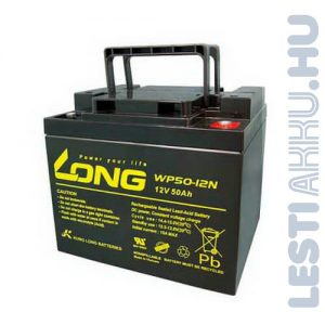 Long Globe 12V 50Ah Kerekesszék Akkumulátor